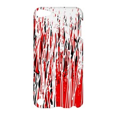 Red, black and white pattern Apple iPod Touch 5 Hardshell Case