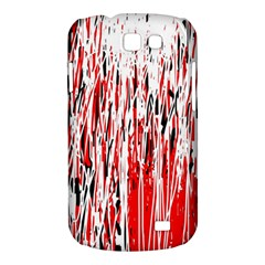 Red, black and white pattern Samsung Galaxy Express I8730 Hardshell Case