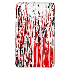 Red, black and white pattern Samsung Galaxy Tab Pro 8.4 Hardshell Case