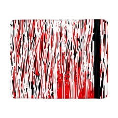 Red, black and white pattern Samsung Galaxy Tab Pro 8.4  Flip Case