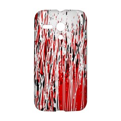 Red, black and white pattern Motorola Moto G