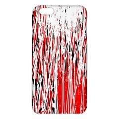 Red, black and white pattern iPhone 6 Plus/6S Plus TPU Case