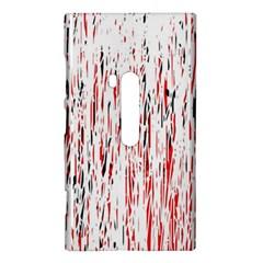 Red, black and white pattern Nokia Lumia 920