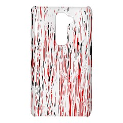 Red, black and white pattern LG G2