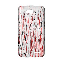Red, black and white pattern LG L90 D410