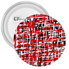Red, white and black pattern 3  Buttons