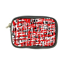 Red, white and black pattern Coin Purse