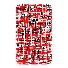 Red, white and black pattern Memory Card Reader