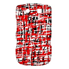 Red, white and black pattern Torch 9800 9810