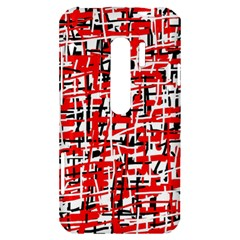 Red, white and black pattern HTC Evo 3D Hardshell Case
