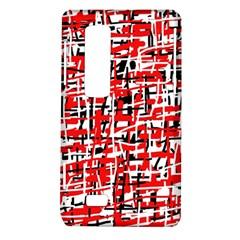 Red, white and black pattern LG Optimus Thrill 4G P925