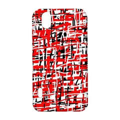 Red, white and black pattern LG Optimus P970