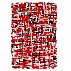 Red, white and black pattern Samsung Galaxy Tab 8.9  P7300 Hardshell Case