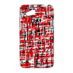 Red, white and black pattern HTC Desire VC (T328D) Hardshell Case