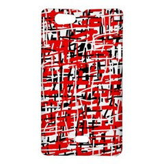 Red, white and black pattern Sony Xperia Miro
