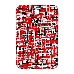 Red, white and black pattern Samsung Galaxy Note 8.0 N5100 Hardshell Case