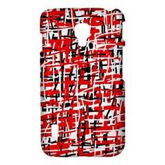 Red, white and black pattern LG Optimus L7 II