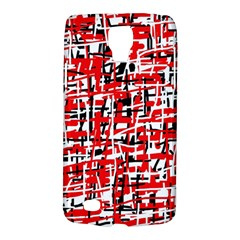 Red, white and black pattern Galaxy S4 Active