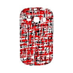 Red, white and black pattern Samsung Galaxy S6810 Hardshell Case