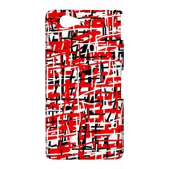 Red, white and black pattern Sony Xperia Z1 Compact
