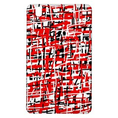 Red, white and black pattern Samsung Galaxy Tab Pro 8.4 Hardshell Case