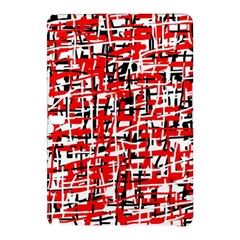 Red, white and black pattern Samsung Galaxy Tab Pro 12.2 Hardshell Case