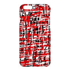 Red, white and black pattern Apple iPhone 6 Plus/6S Plus Hardshell Case