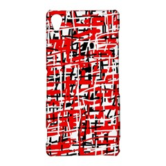 Red, white and black pattern Sony Xperia Z3