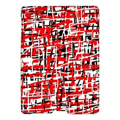 Red, white and black pattern Samsung Galaxy Tab S (10.5 ) Hardshell Case