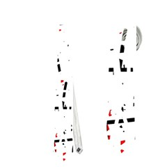 red, white and black pattern Neckties (Two Side)