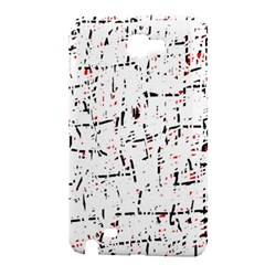 red, white and black pattern Samsung Galaxy Note 1 Hardshell Case