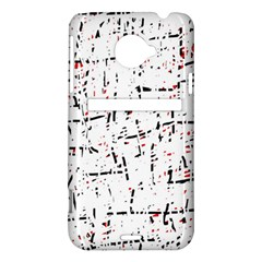 red, white and black pattern HTC Evo 4G LTE Hardshell Case