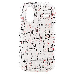 red, white and black pattern HTC Amaze 4G Hardshell Case