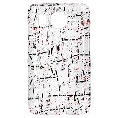 red, white and black pattern HTC Desire HD Hardshell Case