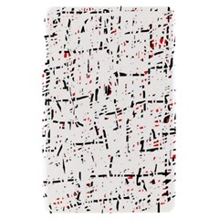 red, white and black pattern Kindle Fire (1st Gen) Hardshell Case