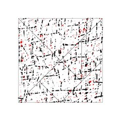 red, white and black pattern Acrylic Tangram Puzzle (4  x 4 )