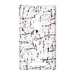 red, white and black pattern Nokia Lumia 925
