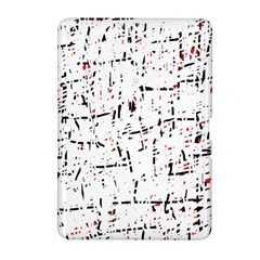 red, white and black pattern Samsung Galaxy Tab 2 (10.1 ) P5100 Hardshell Case