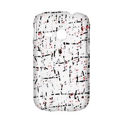red, white and black pattern Samsung Galaxy S6310 Hardshell Case
