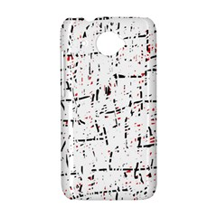red, white and black pattern HTC Desire 601 Hardshell Case