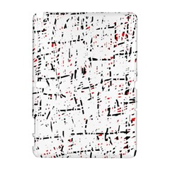 red, white and black pattern Samsung Galaxy Note 10.1 (P600) Hardshell Case