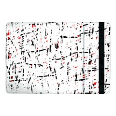 red, white and black pattern Samsung Galaxy Tab Pro 10.1  Flip Case