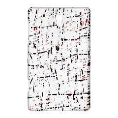 red, white and black pattern Samsung Galaxy Tab S (8.4 ) Hardshell Case