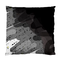 Black and gray pattern Standard Cushion Case (One Side)