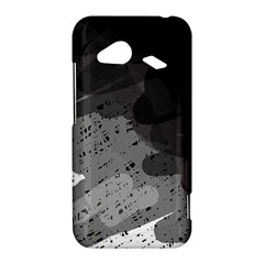Black and gray pattern HTC Droid Incredible 4G LTE Hardshell Case