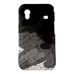 Black and gray pattern Samsung Galaxy Ace S5830 Hardshell Case