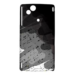 Black and gray pattern Sony Xperia Arc