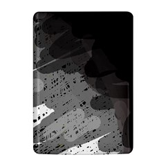 Black and gray pattern Kindle 4
