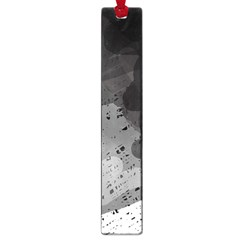 Black and gray pattern Large Book Marks