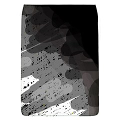 Black and gray pattern Flap Covers (L)